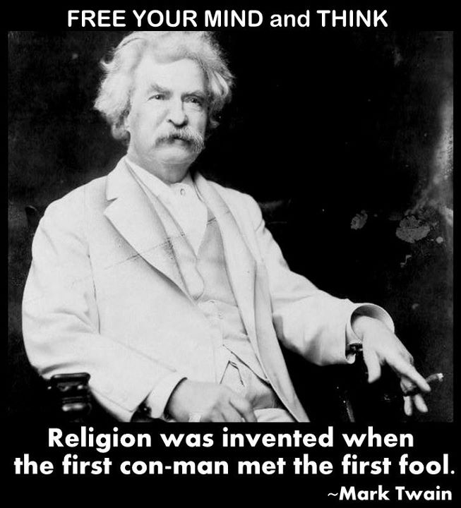Mark Twain Religion Quotes