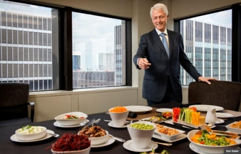 Bill Clinton Vegan