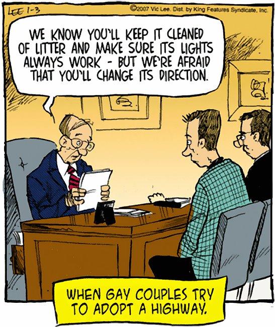 gay adoption speech