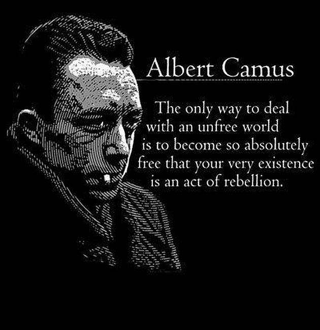 Albert Camus Quotes: Ha! Tea 'n' Danger