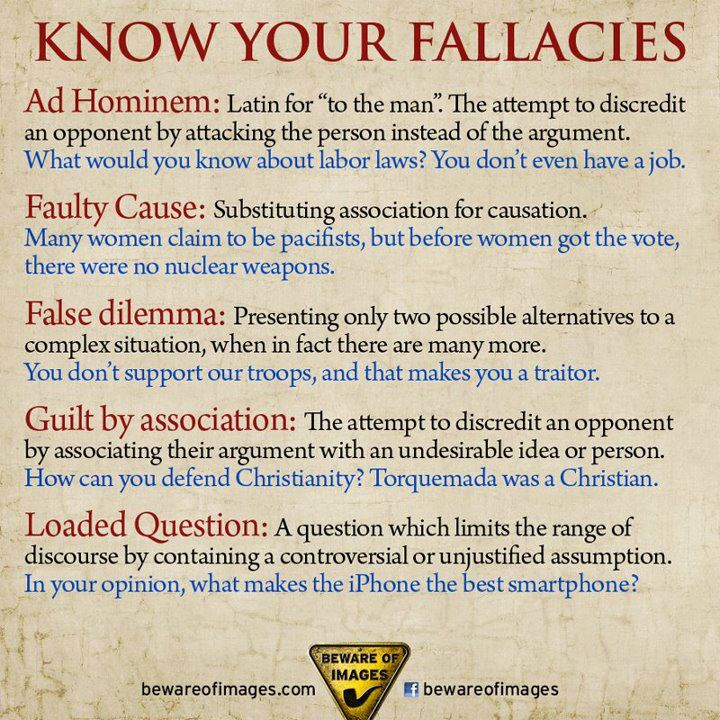 fallacy in critical thinking
