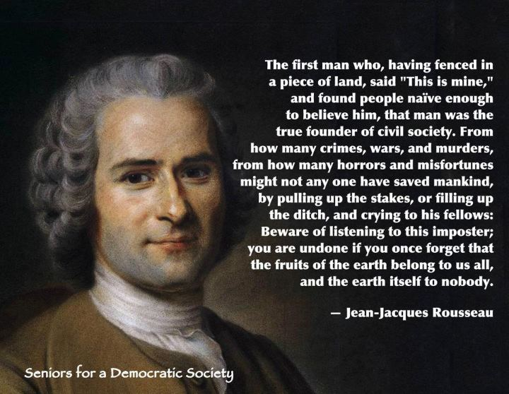 Jean Jacques Rousseau Beliefs The situation with mig...
