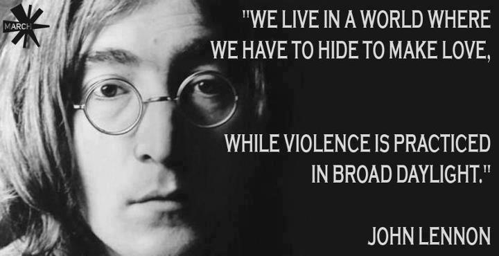 Ljubezen ogroža bolj, kot nasilje?