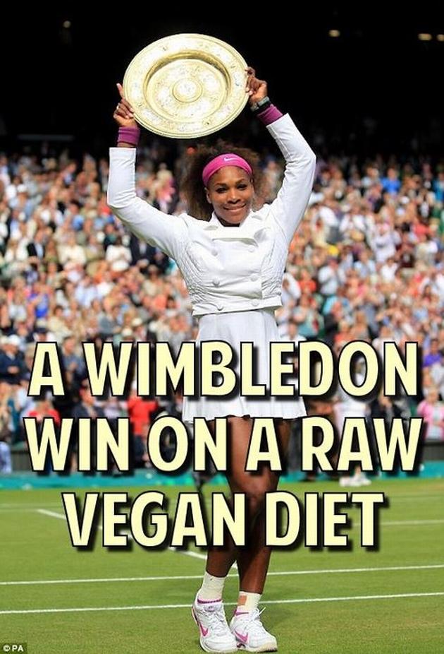 Serena Williams Vegan