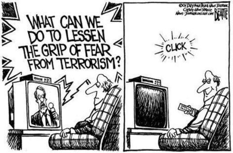 What Can We Do To Lessen The Grip Of Fear From Terrorism Click