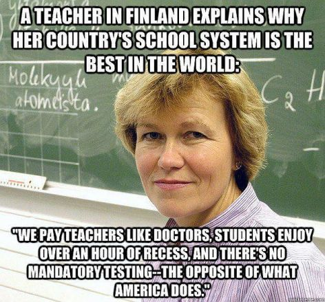A Teacher In Finland Explains Why