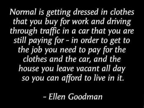 Ellen Goodman Normal Is Getting