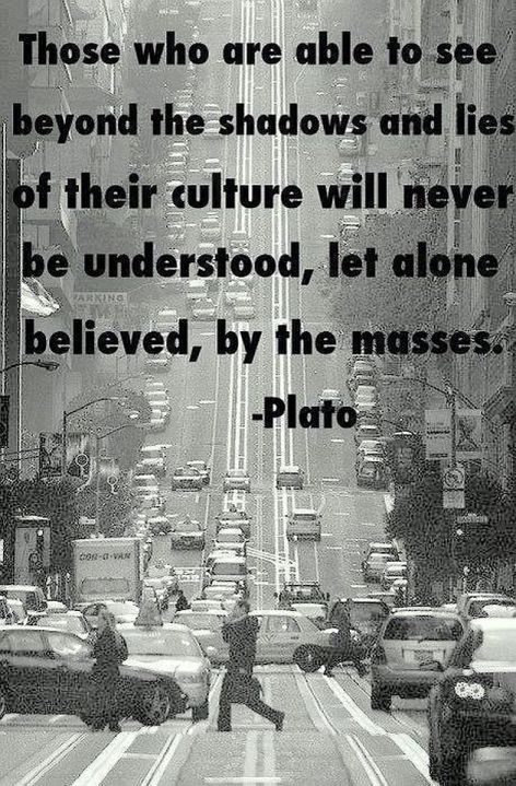 Plato Those Who Are Able To See