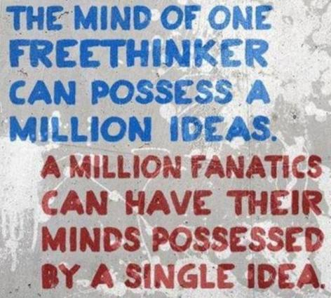 The Mind Of One Freethinker Can