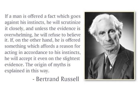 Bertrand Russell If A Man Is Offered