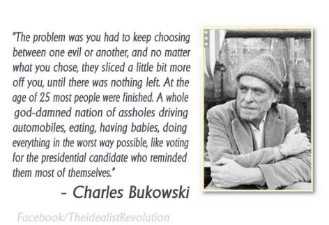 Charles Bukowski The Problem Was