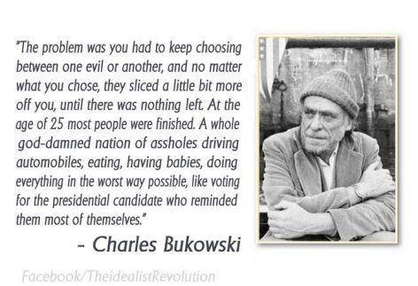 Charles Bukowski The Problem Was