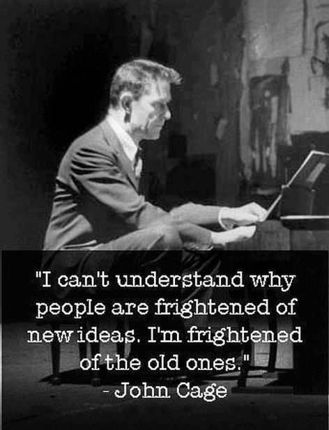 John Cage I Can't Understand