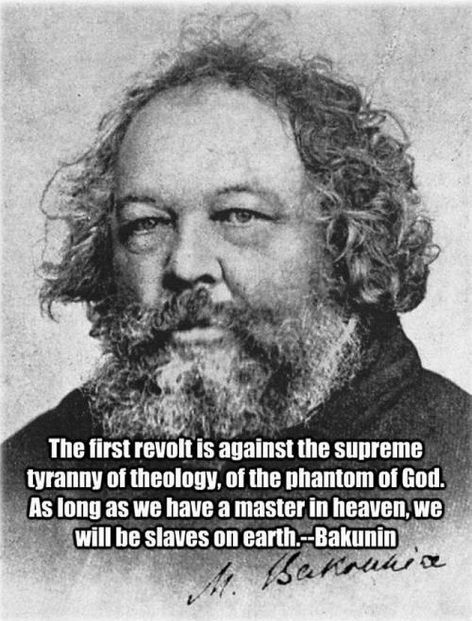 Mikhail Bakunin The First Revolt