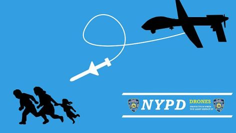 NYPD Drones Protection When You Least Expect It