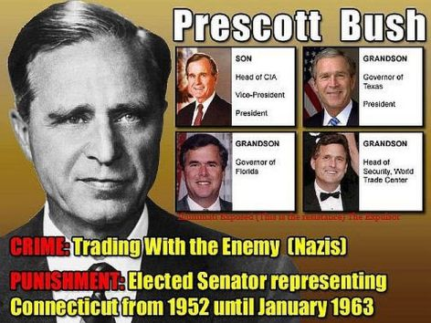 Prescott Bush Crime Trading With