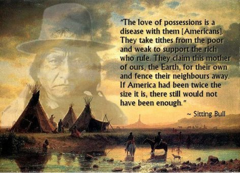 Sitting Bull The Love Of Possessions