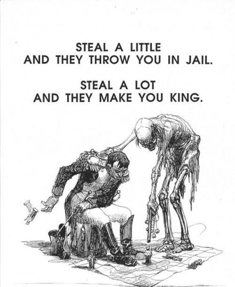 Steal A Little And They Throw You