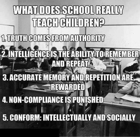 What Does School Really Teach Children