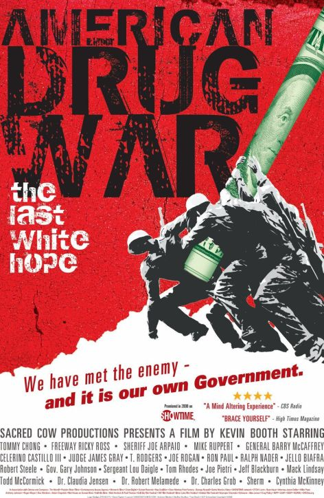 American Drug War The Last White Hope Cover Poster