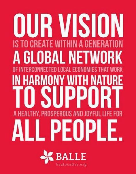 Our Vision Is To Create Within A Generation