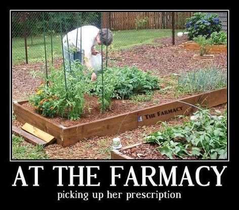 At The Farmacy Picking Up Her Prescription
