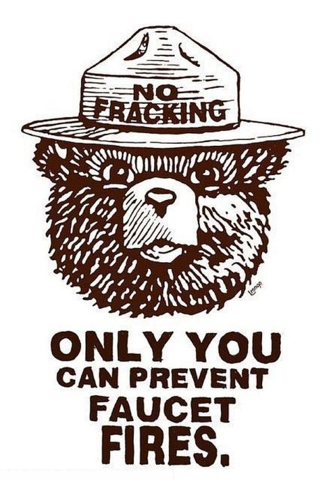 No Fracking Only You Can Prevent Faucet Fires