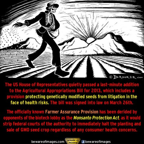 The US House Of Representatives Quietly Passed A Last Minute Addition To The Agricultural Appropriations Bill For 2013