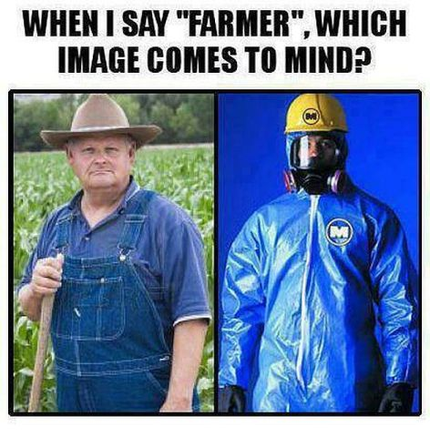 When I Say Farmer Which Image Comes To Mind