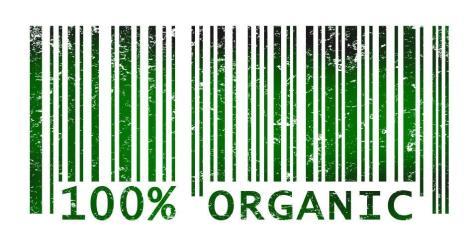 100% Organic Barcode