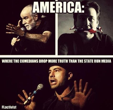 America Where The Comedians Drop More Truth Than The State Run Media