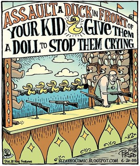 Assault A Duck In Front Of Your Kid Give Them A Doll To Stop Them Crying