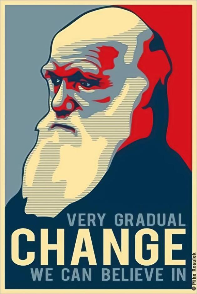 Charles Darwin Very Gradual Change We Can Believe In