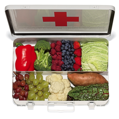 First Aid Kit Fruits And Vegetables