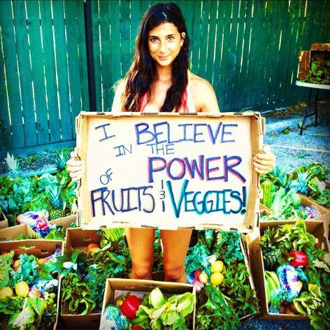 Kristina Gabrielle Carrillo-Bucaram Vegan