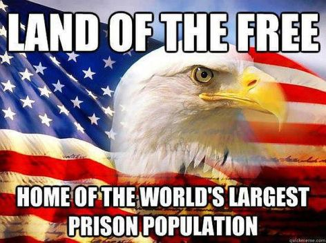 Land Of The Free Home Of The World's Largest Prison Population