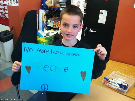 Martin Richard No More Hurting People Peace
