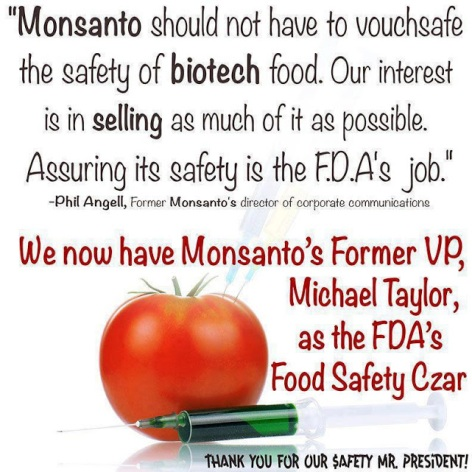 Monsanto Should Not Have To Vouchsafe The Safety Of Biotech Food