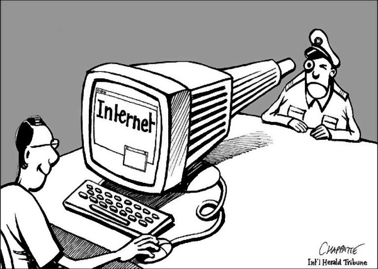 an argument that censorship of the internet is unrealistic and unconstitutional in the us