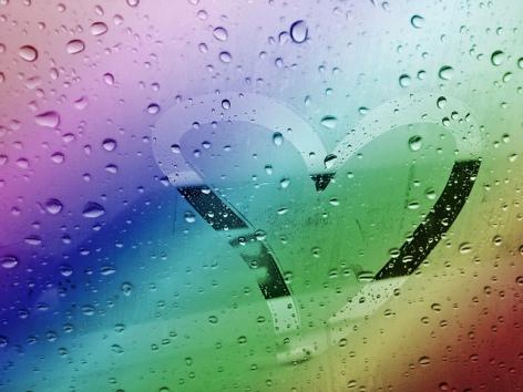 Rainbow Hart Window