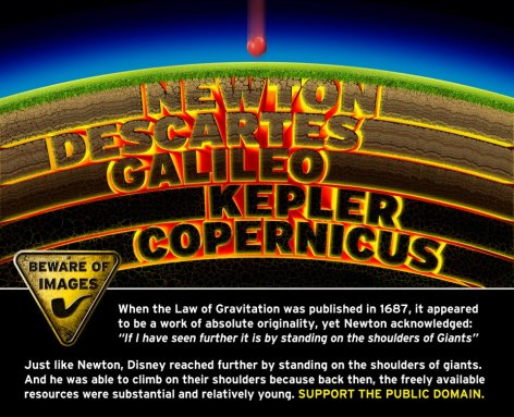 Support The Public Domain Newton Descartes Galileo Kepler Copernicus