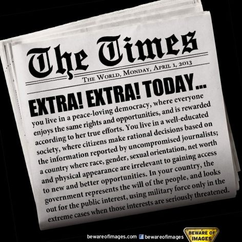 The Times The World Monday April 1 2013 Extra Extra Today