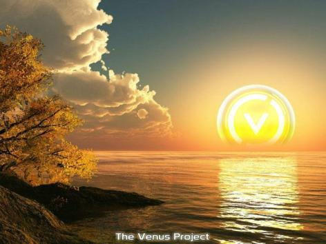 The Venus Project Sunrise Sunset Over Water Ocean Lake Sea
