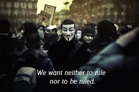 We Want Neither To Rule Nor To Be Ruled