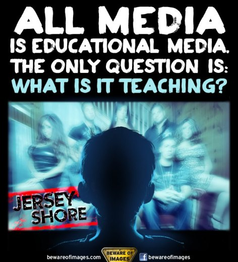 All Media Is Educational Media The Only Question Is What Is It Teaching Jersey Shore