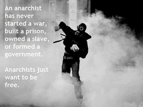 An Anarchist Has Never Started A War