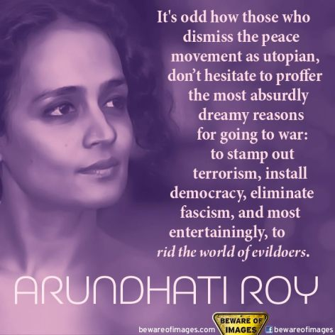 Arundhati Roy It's Odd How Those