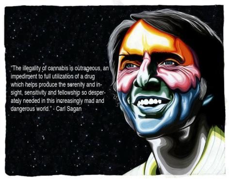 Carl Sagan The Illegality Of Cannabis