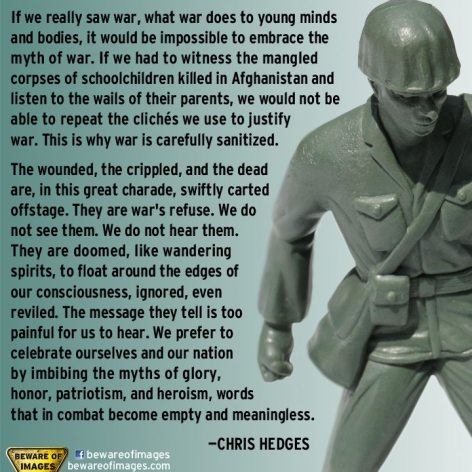Chris Hedges If We Really Saw War