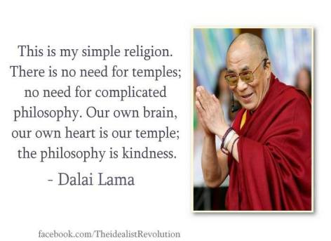 Dalai Lama This Is My Simple Religion